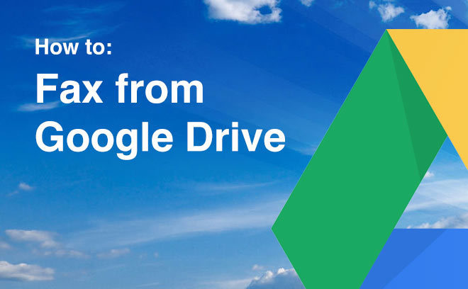 fax from google drive