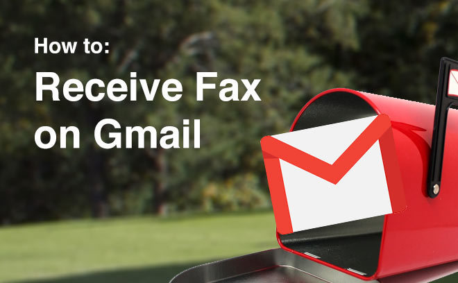 receive fax Gmail