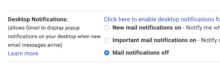 gmail desktop notification settings