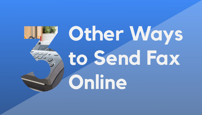 other ways to send fax online